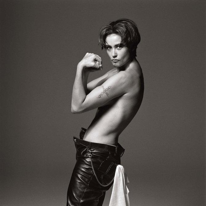 Photographer Michel Comte.Demi Moore