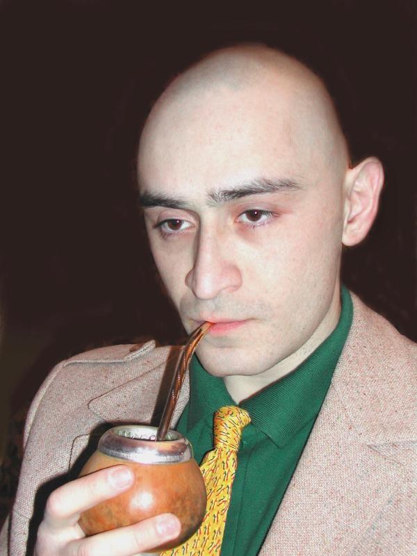 Лысая жопа писателя Каганова