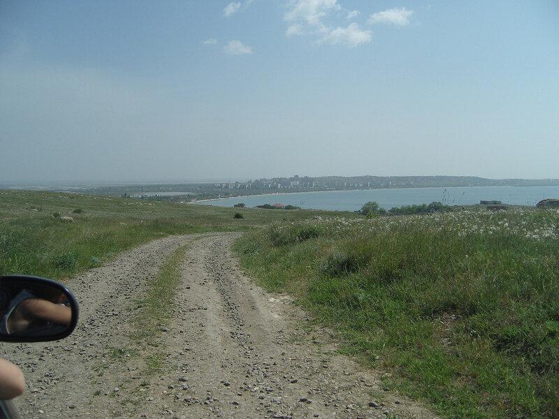 Казантип. Вид на Щелкино с севера