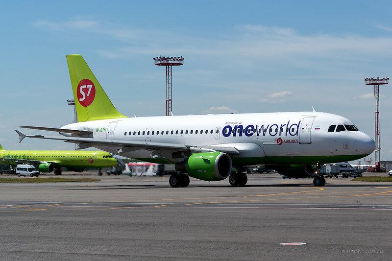 Airbus A319-114 (VP-BTN) S7 D808585