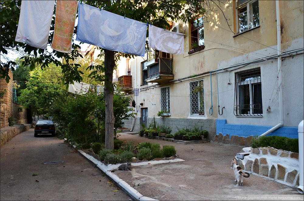 дворы Севастополя