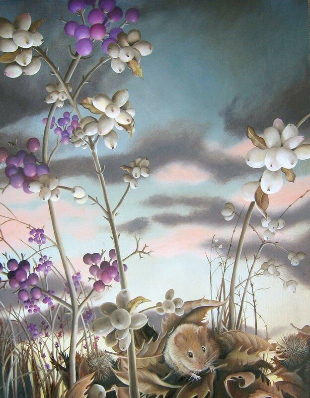 Мышонок городской и мышонок деревенский. Художник Jean Bradbury