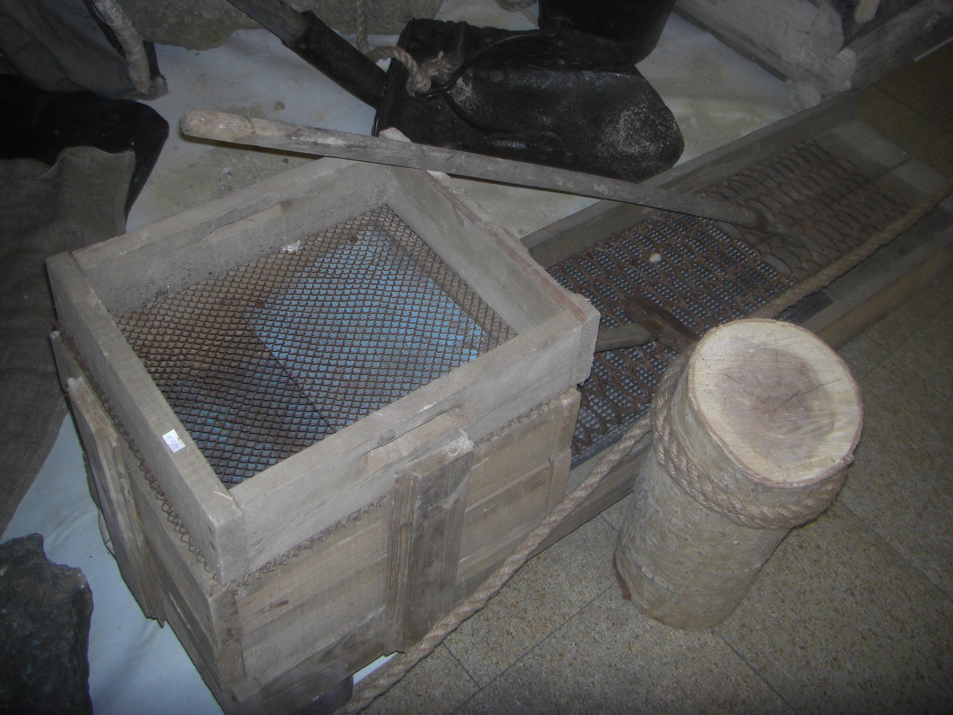 Инструменты для промывки золота (12.09.2014)