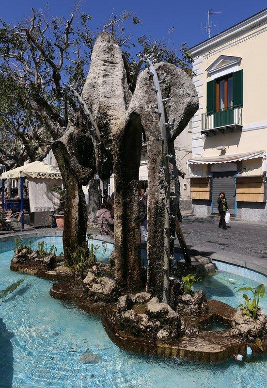 Ischia, Forio. Matteotti square (Piazza Matteotti)