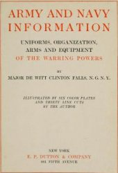 Книга Army and Navy Information