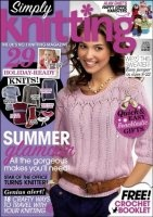 Simply Knitting №96 2012 pdf 98,52Мб скачать книгу бесплатно