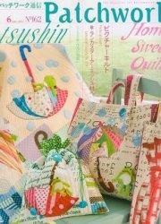 Журнал Patchwork Quilt tsushin №162 - June 2011