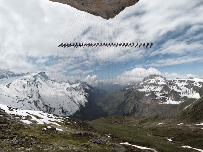 фотосет в Альпах