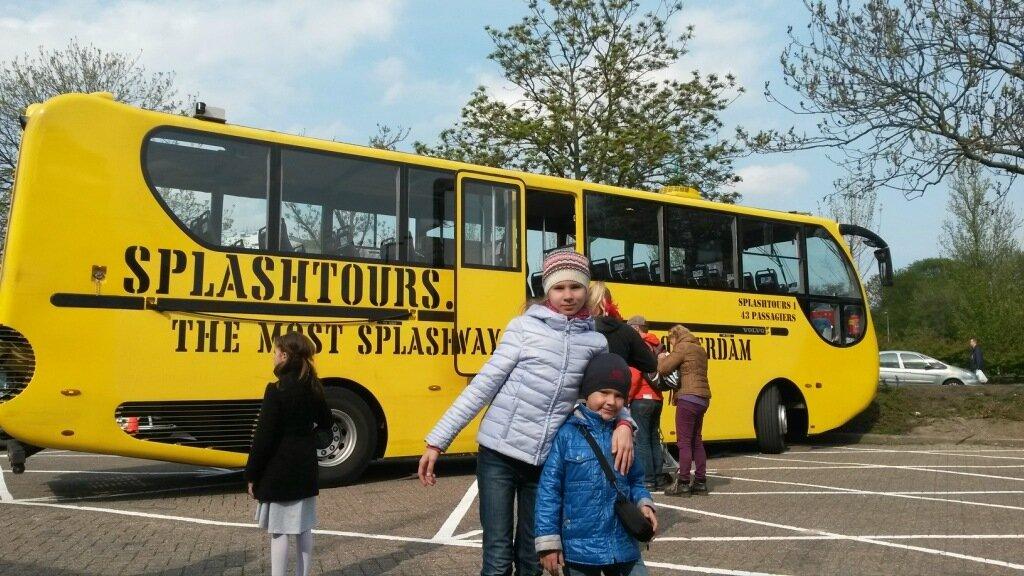 Роттердам, Сплештур, ныряющий автобус