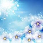 Abstract Flower Backgrounds 25 [преобразованный]