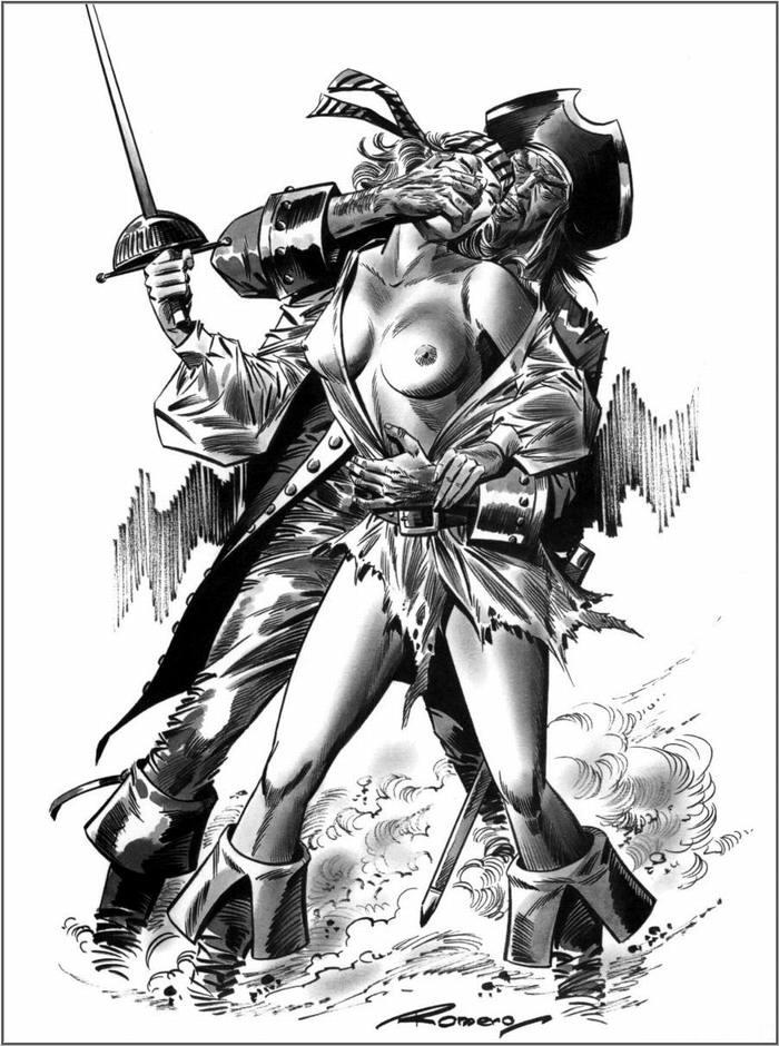 Графика: истории из жизни девушек - пираток (101)