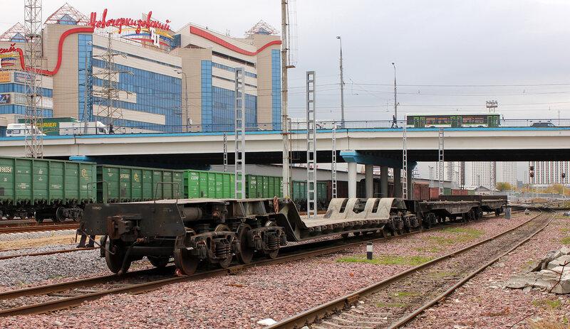 Вагон на станции Черкизово