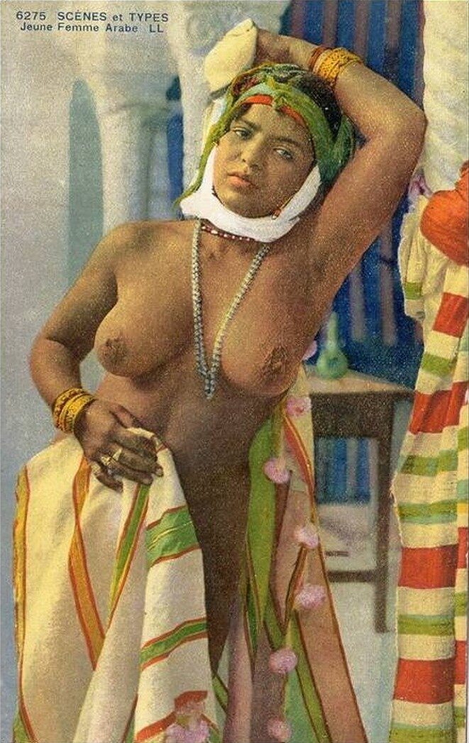 1900-е. Молодая арабка