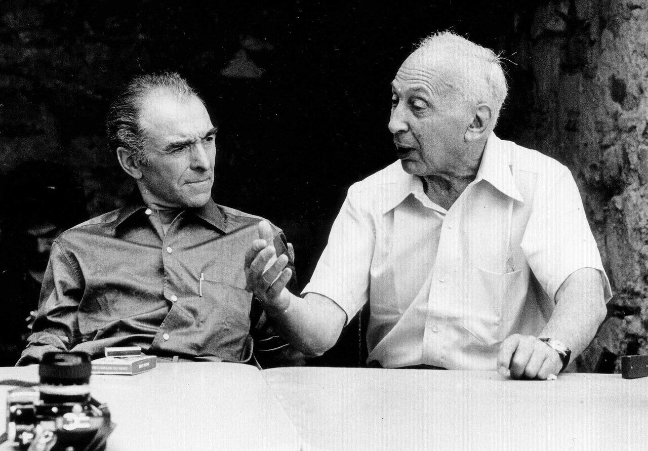 1975. Роберт Дуано и Андре Кертеc в Арле