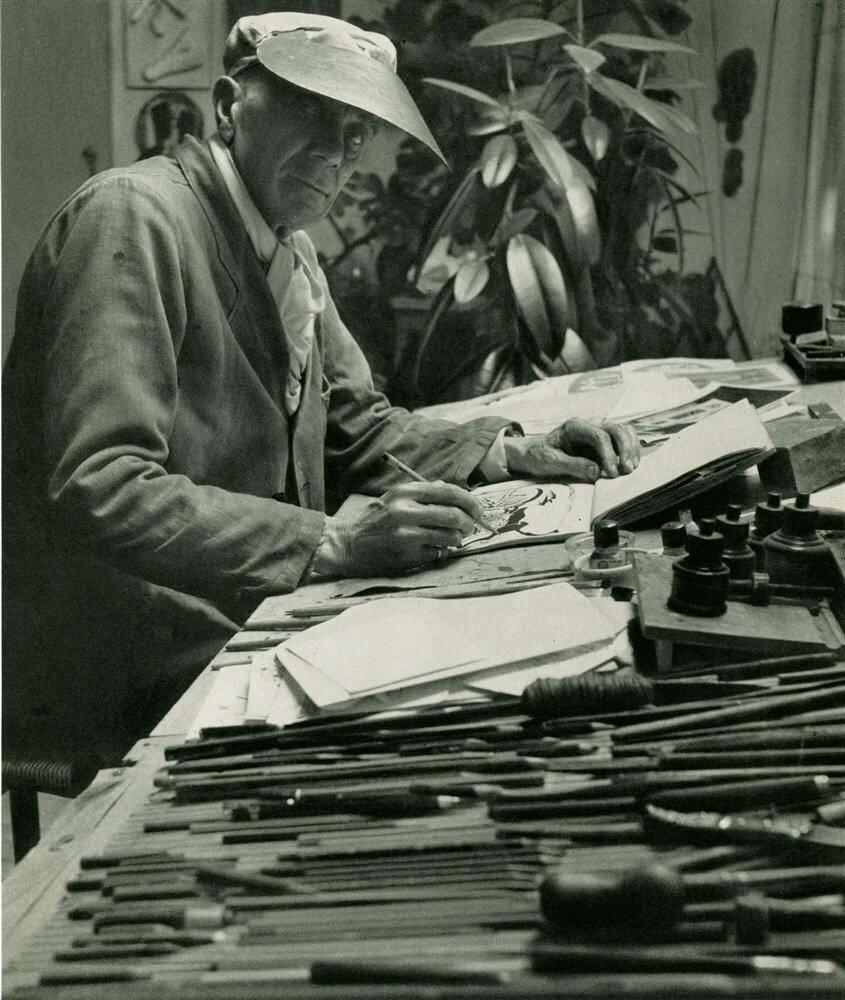 Жорж Брак и инструменты