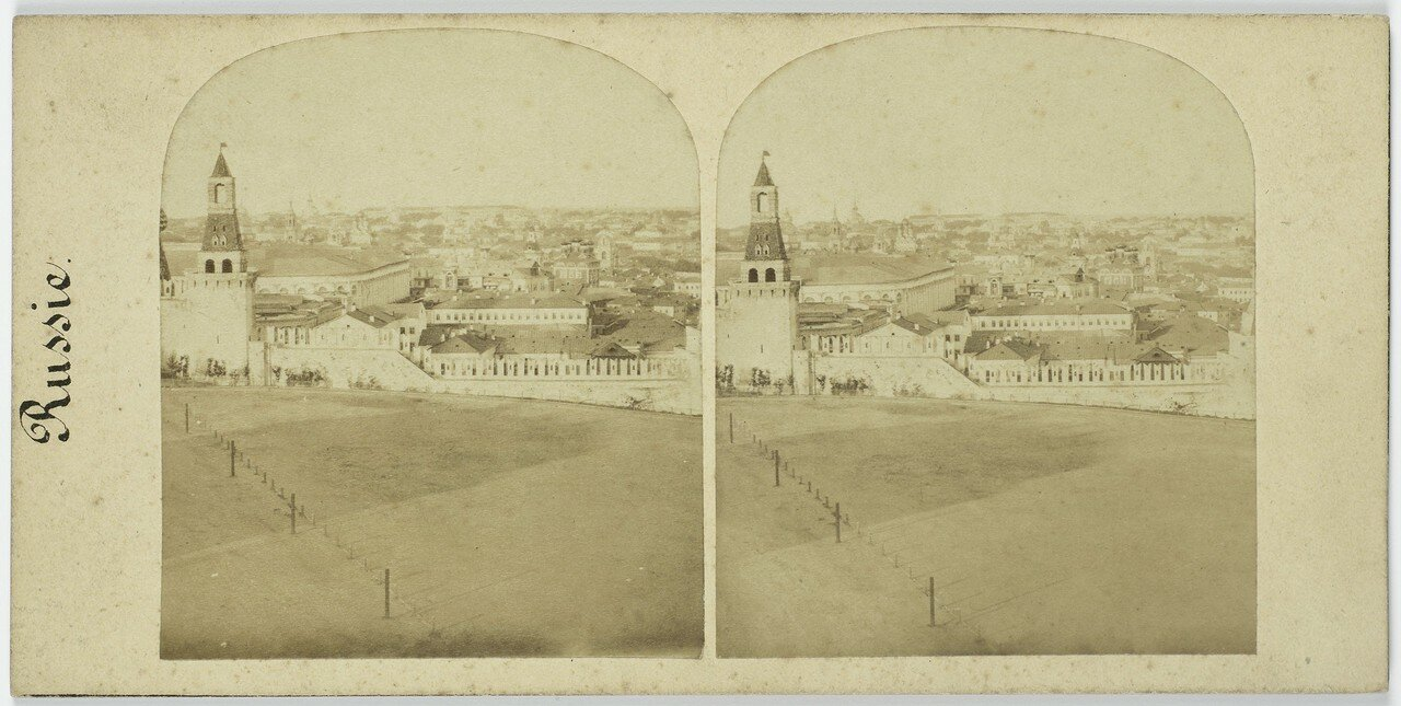 360. Кремль. Панорама с колокольни Ивана Великого. 1858