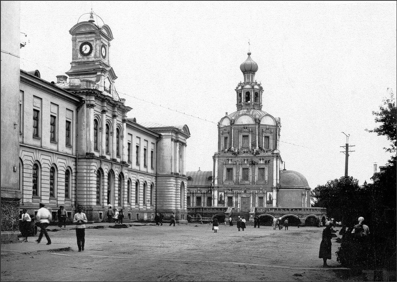 1920-е. Церковь Петра и Павла в Петровском-Разумовском