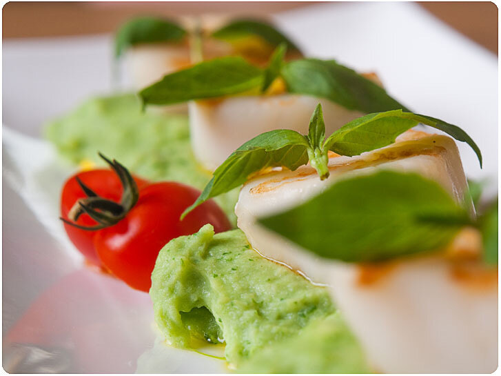 рекламная фотосъемка: блюда для меню ресторанов