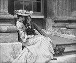 Консуэло со своим кузеном Уинстоном Черчиллем. 1902