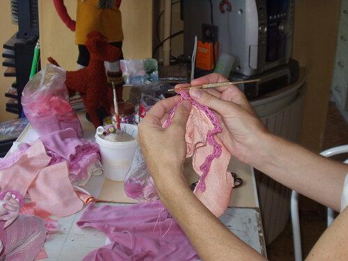 Как я делаю куклу (мастер-класс)