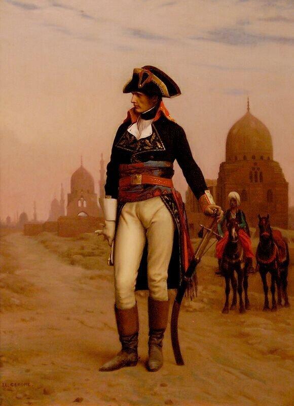 Наполеон в египте и жозефина