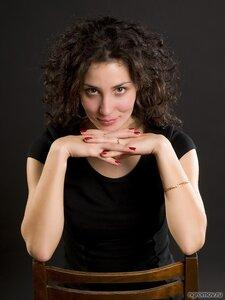 Портрет девушки (2) (шатенка)