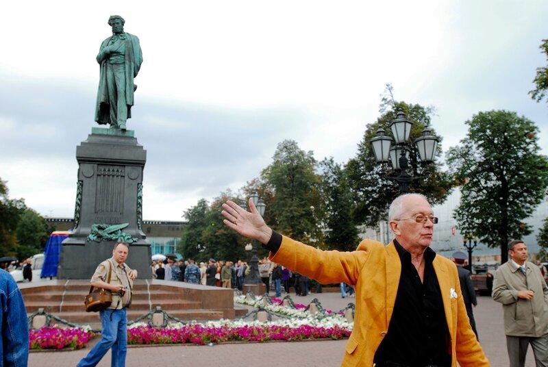 Митинг в защиту Химкинского леса