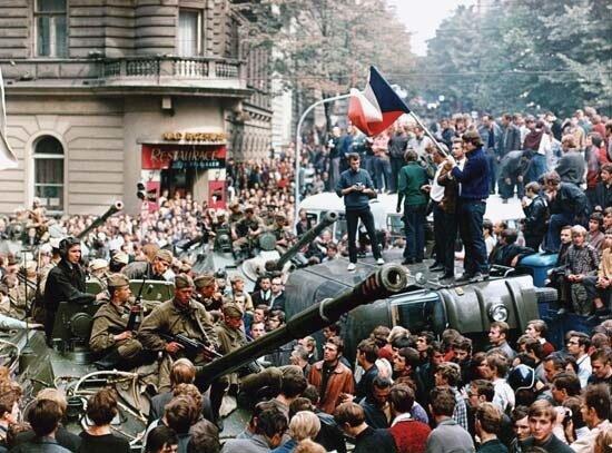 ввод войск овд в чехословакию