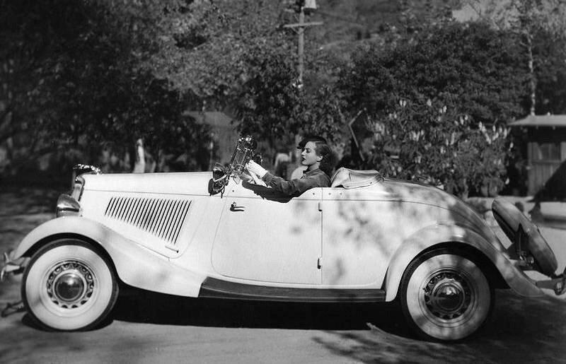 актриса Joan Crawford
