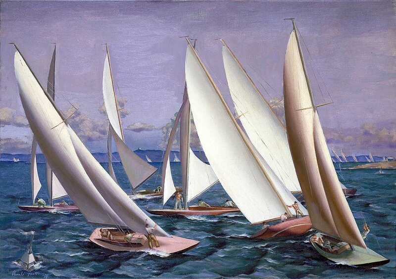 Gerald Sargent Foster: Before the Start, 1934
