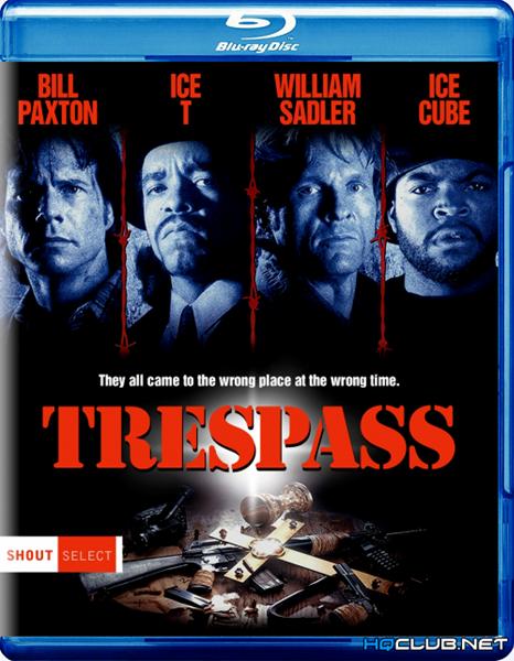 Нарушение территории / Trespass (1992/HDRip)