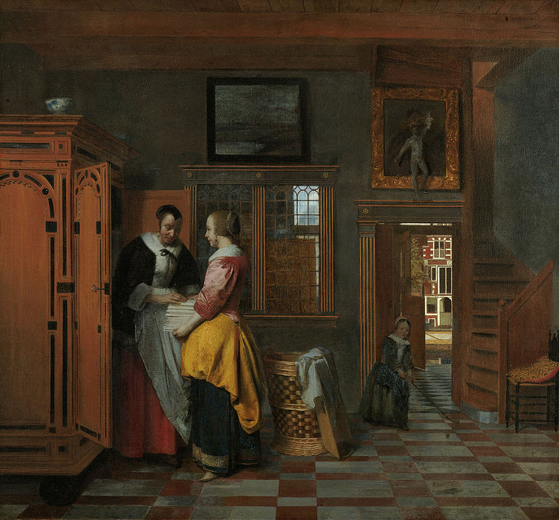 800px-Pieter_de_Hooch_-_At_the_Linen_Closet.jpg