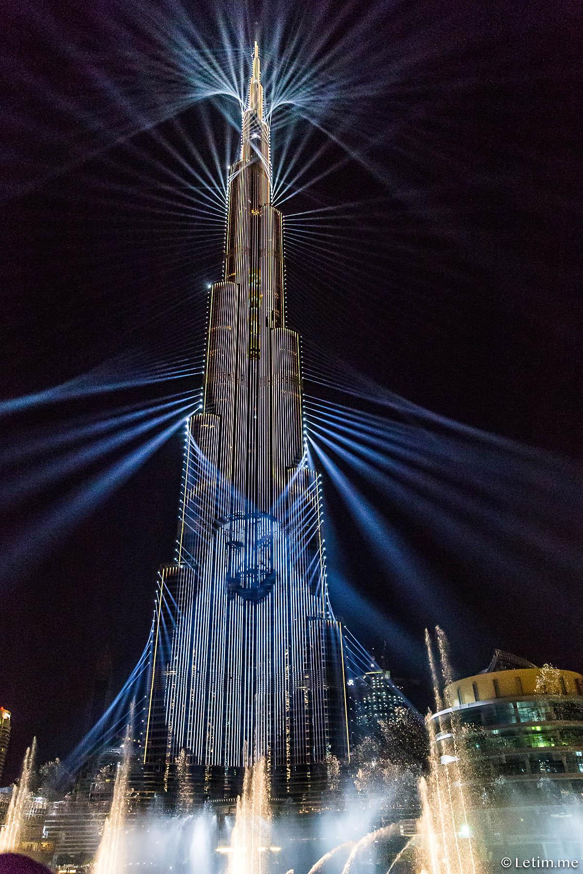 Световое шоу в Дубае Light Up 2018