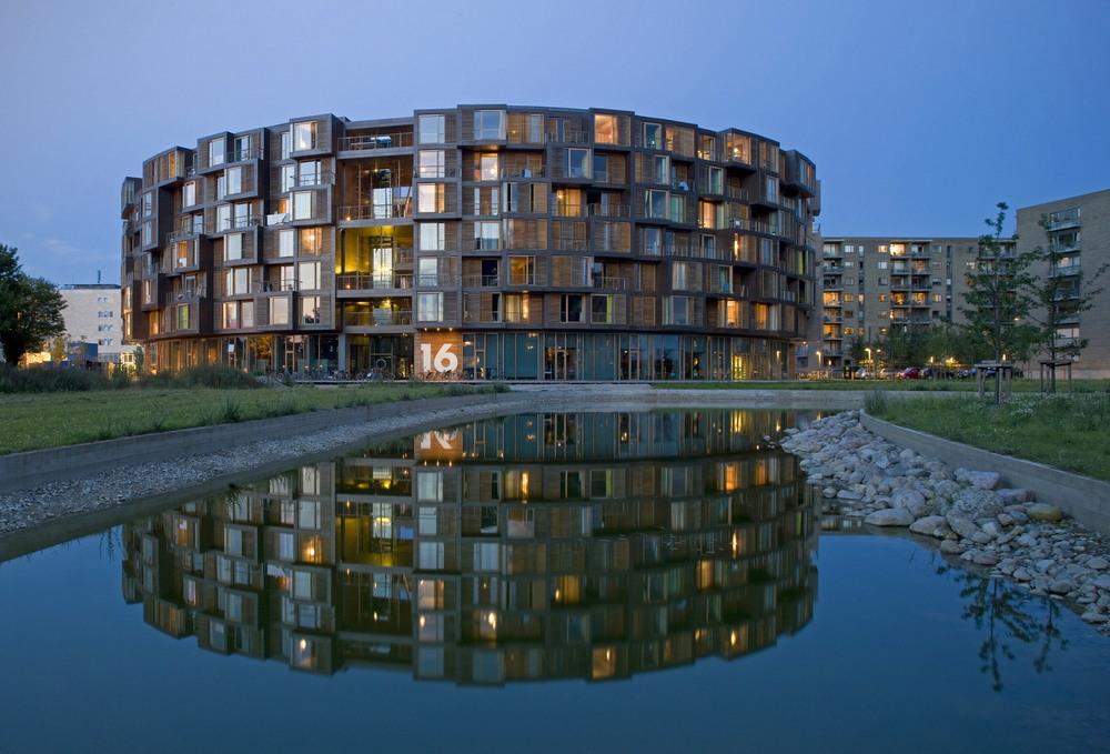 Современная общага в Копенгагене