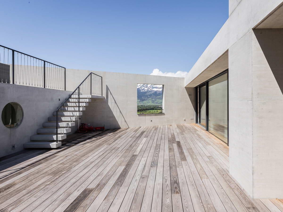 Дом Треугольник в Лихтенштейне