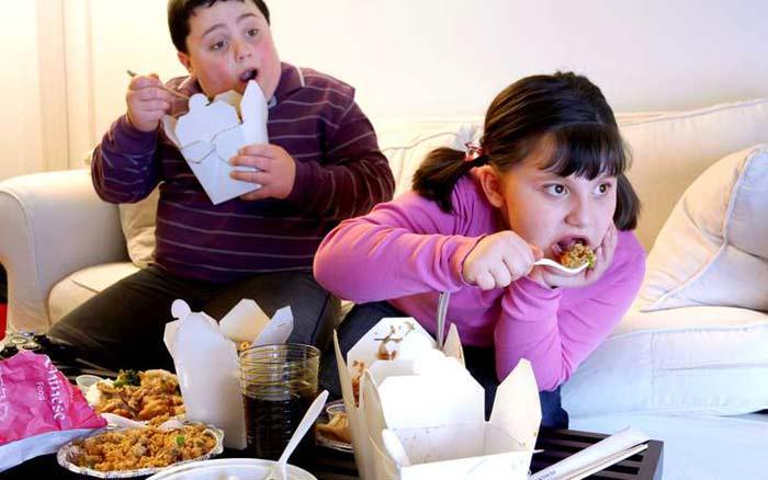 рост детского ожирения