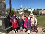 Начало учебного года в воскресной школе - за благословением к преподобному Сергию24 сентября учащиеся воскресной школы Донского храма посетили Троице-Сергиеву лавру и Московскую духовную академию