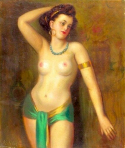 Gyula Asztalos (1900 – 1972, Hungarian)   Dancer