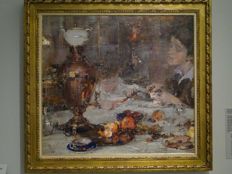 Н. Фешин Миссис Фешина с дочерью. 1925 Частная коллекция.JPG