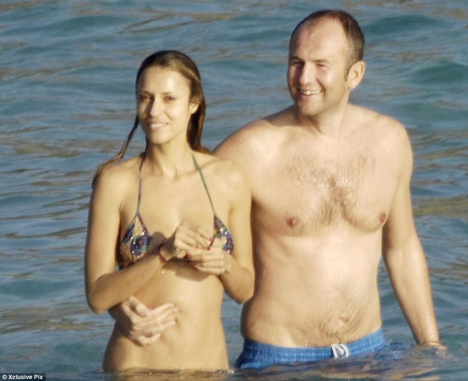 4. Мельниченко с женой Александрой