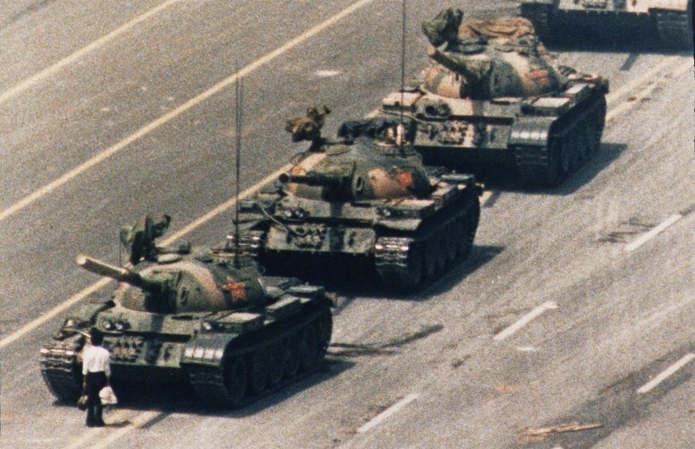 Неизвестный бунтарь (также англ. Tank Man) — условное имя, под которым стал известен человек, в тече