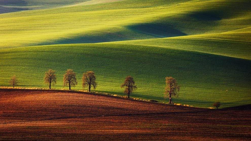 Волшебные пейзажи сельской Швейцарии в фотографиях Martin Rak