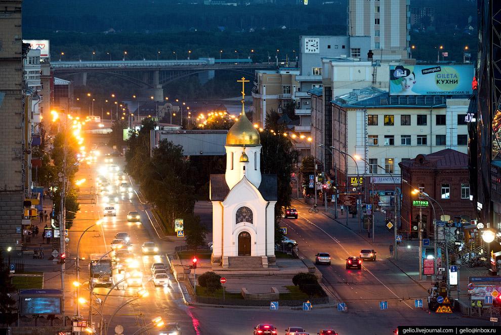 24. Часовню восстановили к вековому юбилею города в 1993 году.