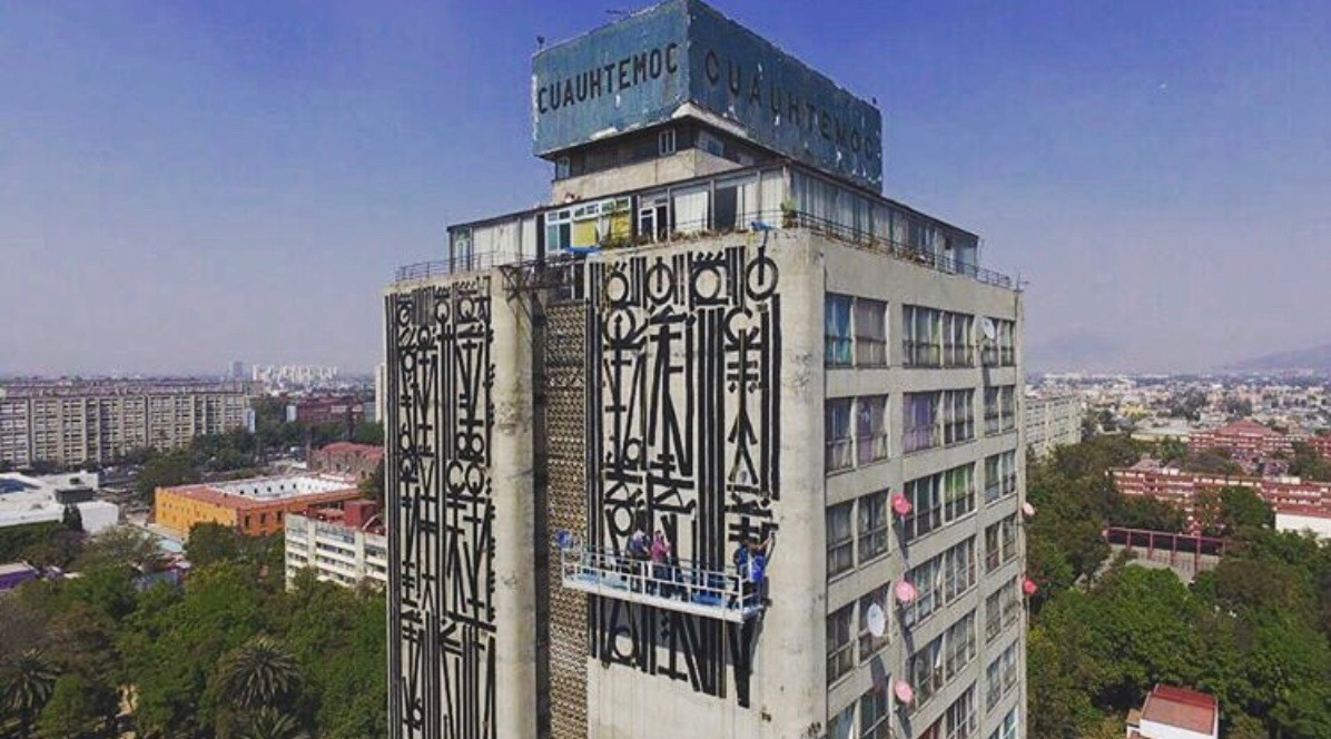 Streets: RETNA \/\/ The Beauty Project (Mexico City)