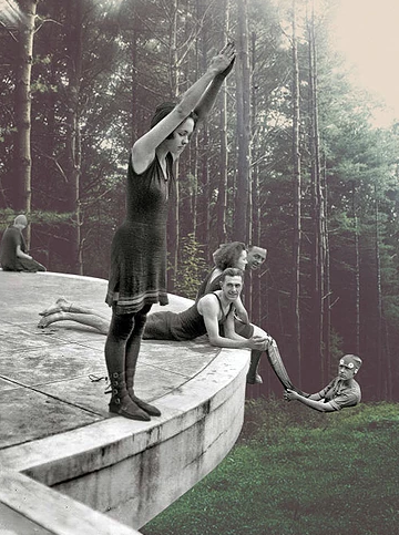 Beautiful Surrealist Collages by Merve Ozaslan