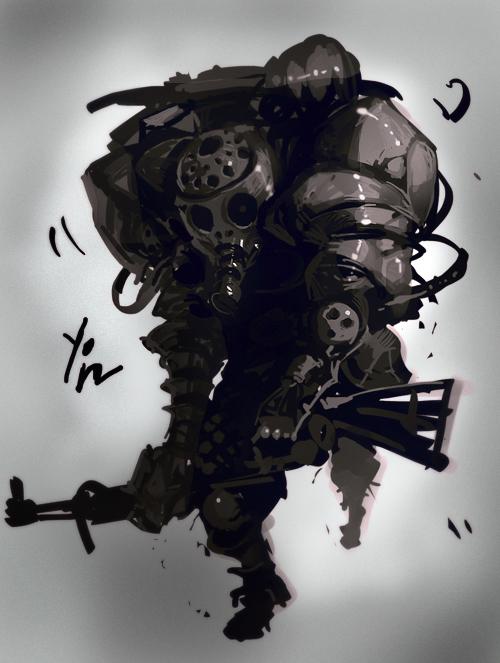 Digital Painting - Qian Yi