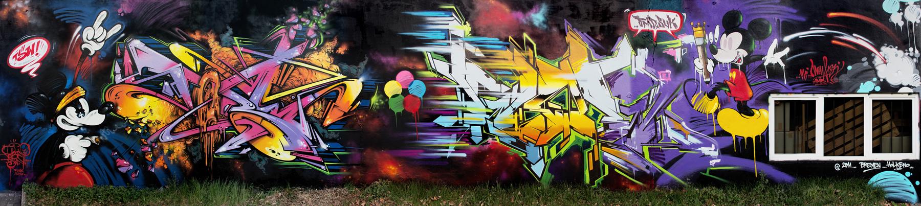 Graffiti Artist – Tobe Colorblind (16 pics)