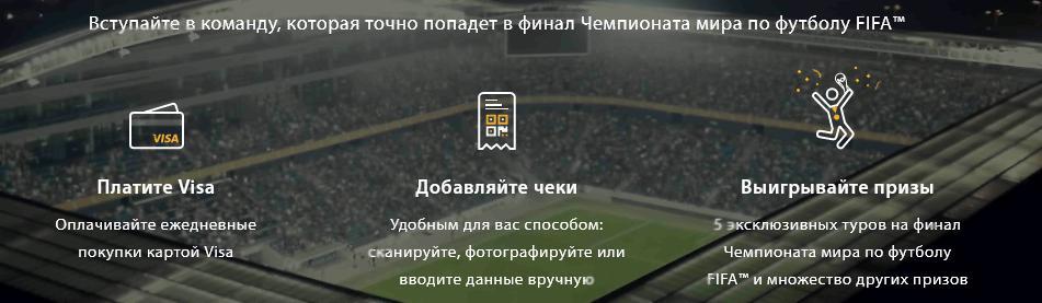 Акция Visa 2017 на fifa.visa.ru