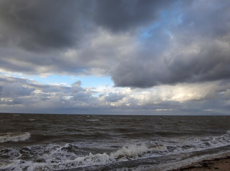 Ветер с моря... В октябре