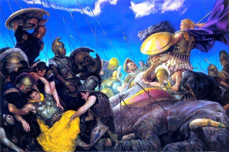 Картина Донато Джанкола (Donato Giancola) американского художника-иллюстратора жанра научной фантастики и фэнтези (21).jpg